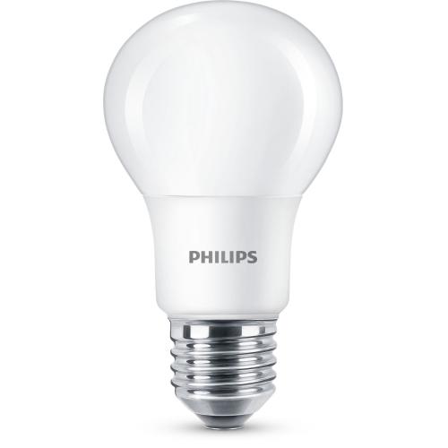 PHILIPS LED bulb A60 8W/60W E27 2700K 806lm NonDim 15Y opal BL