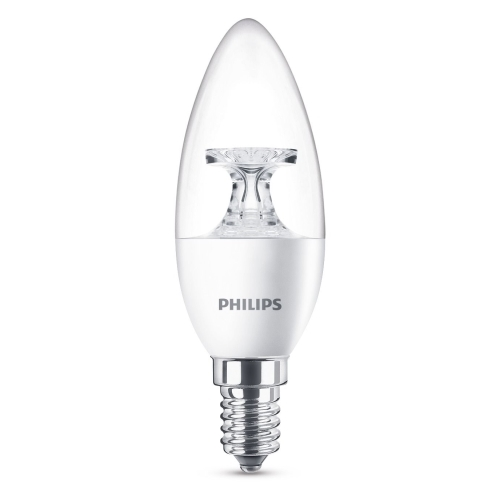 PHILIPS LED candle B35 4W/25W E14 2700K 250lm NonDim 15Y cira BL