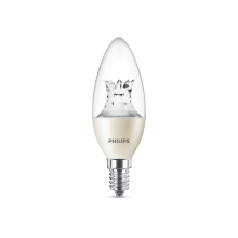 PHILIPS LED candle Warmglow B38 4W/25W E14 2700K 250lm Dim 15Y cira BL