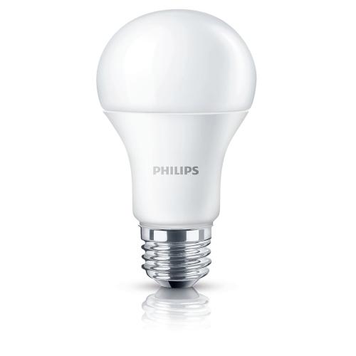 PHILIPS LED CorePro bulb A60 10W/75W E27 6500K 1055lm NonDim 15Y opal