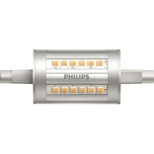 PHILIPS LED CorePro linear. 7.5W/60W R7S 4000K 1000lm NonDim 15Y 78mm