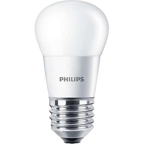 PHILIPS LED CorePro lustre P45 5.5W/40W E27 2700K 470lm NonDim 15Y opal