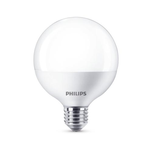 PHILIPS LED globe G93 9.5W/60W E27 2700K 806lm NonDim 15Y opal