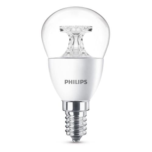 PHILIPS LED lustre P45 4W/25W E14 2700K 250lm NonDim 15Y cira BL