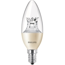 PHILIPS LED MASTER candle B38 6W/40W E14 2700K 470lm DimTone 25Y cira