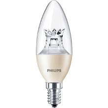 PHILIPS LED MASTER candle B40 8W/60W E14 2700K 806lm DimTone 25Y cira