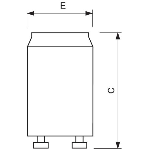 PHILIPS starter S10 25 65W 220 240V