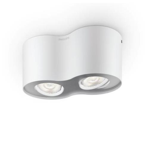 PHILIPS svit.bodov.LED myLiving Phase 2x4.5W 1000lm IP20 ; bílá