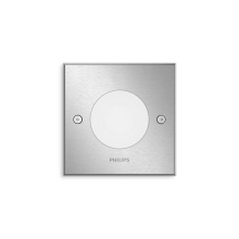 PHILIPS svit.downlight Crust 1x3W ;inox