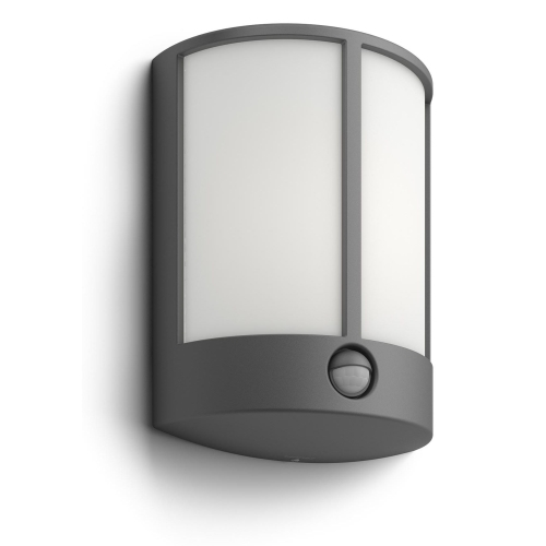 PHILIPS svit.nasten.LED myGarden Stock 1x6W 600lm IP44 ; antracit senzor