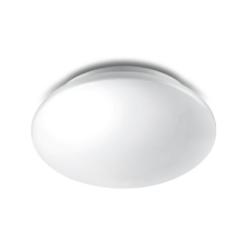PHILIPS svit.přisaz.LED Essentials Moire 1x10W 850lm/827 IP20 ; bílá