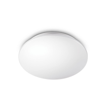 PHILIPS svit.prisaz.LED Essentials Moire 1x16W  1100lm/840 IP20 ; bila