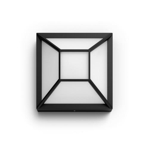 PHILIPS svit.prisaz.LED myGarden Drosera 12W 1200lm/827 IP44 ; černá