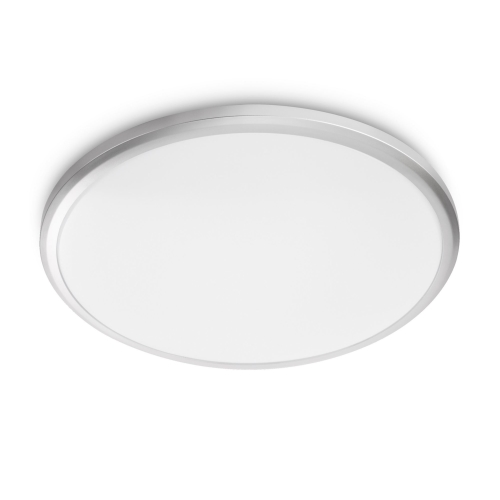 PHILIPS svit.prisaz.LED myLiving Twirly 1x12W 1400lm/840 IP20 ; seda