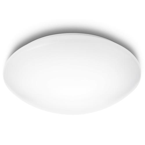 PHILIPS svit.strop.LED myLiving Suede 1x12W 1200lm/827 IP20 ; bílá