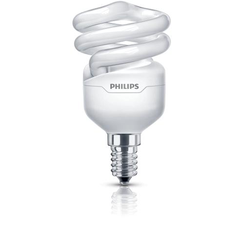 PHILIPS zářiv.kompakt. TORNADO T2 10Y 12W/827 230V E14