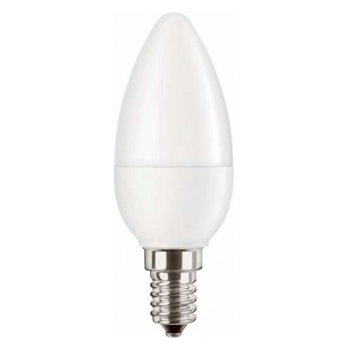 PILA LED candle B35 5.5W/40W E14 2700K 470lm NonDim 15Y opal
