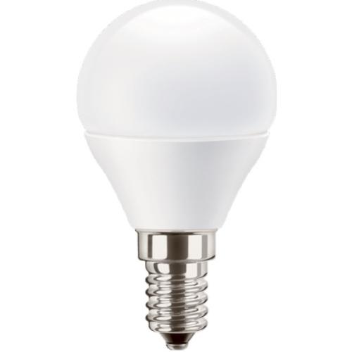 PILA LED lustre P45 5.5W/40W E14 2700K 470lm NonDim 15Y opal