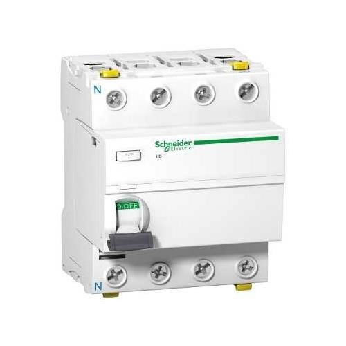 Schneider chránič.proud  4P 40A/100mA iID AC 10KA