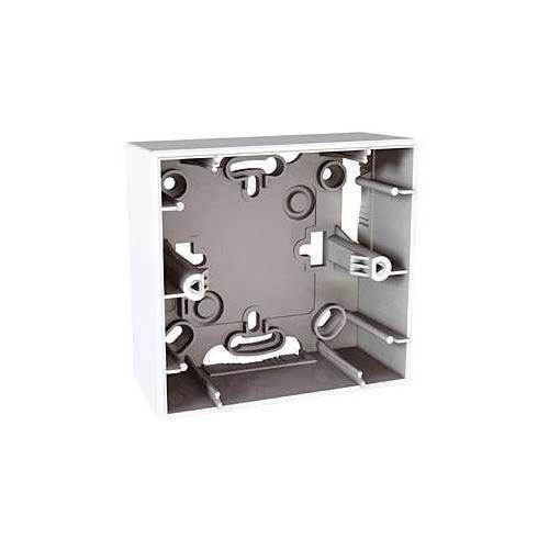 Schneider UNICA krabice pro montaz na omítku 1-nas. POLAR