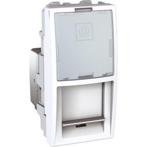Schneider UNICA strojek 1modul zásuv.datova RJ45 kat.5e UTP POLAR