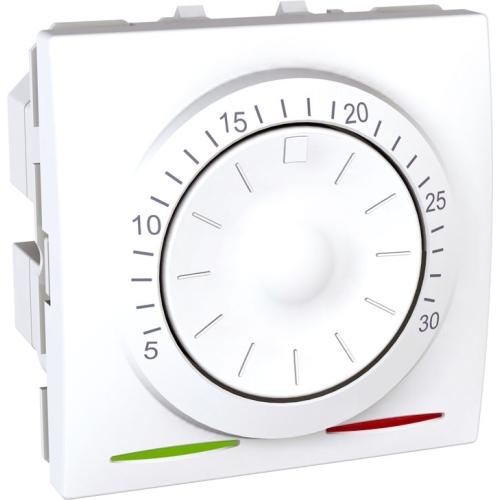 Schneider  UNICA strojek 2modul  termostat.otocny   POLAR