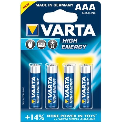 VARTA baterie alkalická LONGLIFE.POWER 4903 AAA/LR03 ; BL4