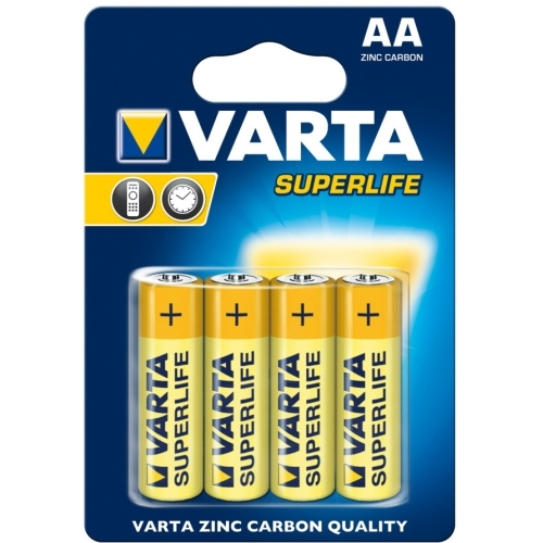 VARTA baterie zinko-uhlik. SUPERLIFE 2006 AA/R6 ; BL4 /Bal.48ks/